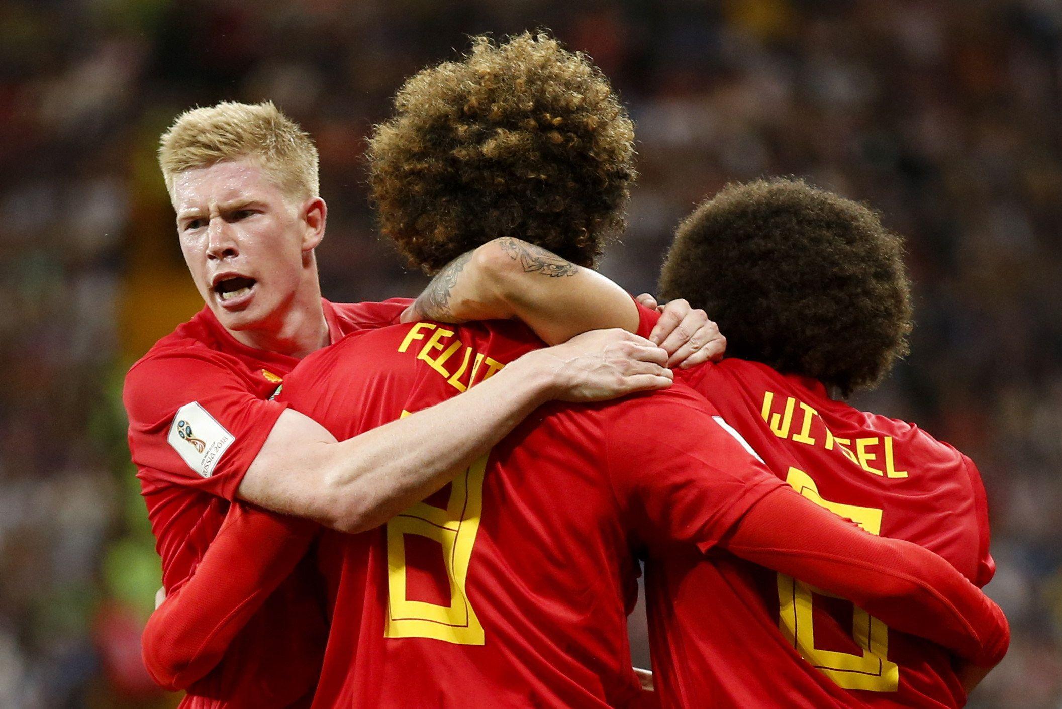 Bélgica se inscribe en cuartos. Foto: EFE