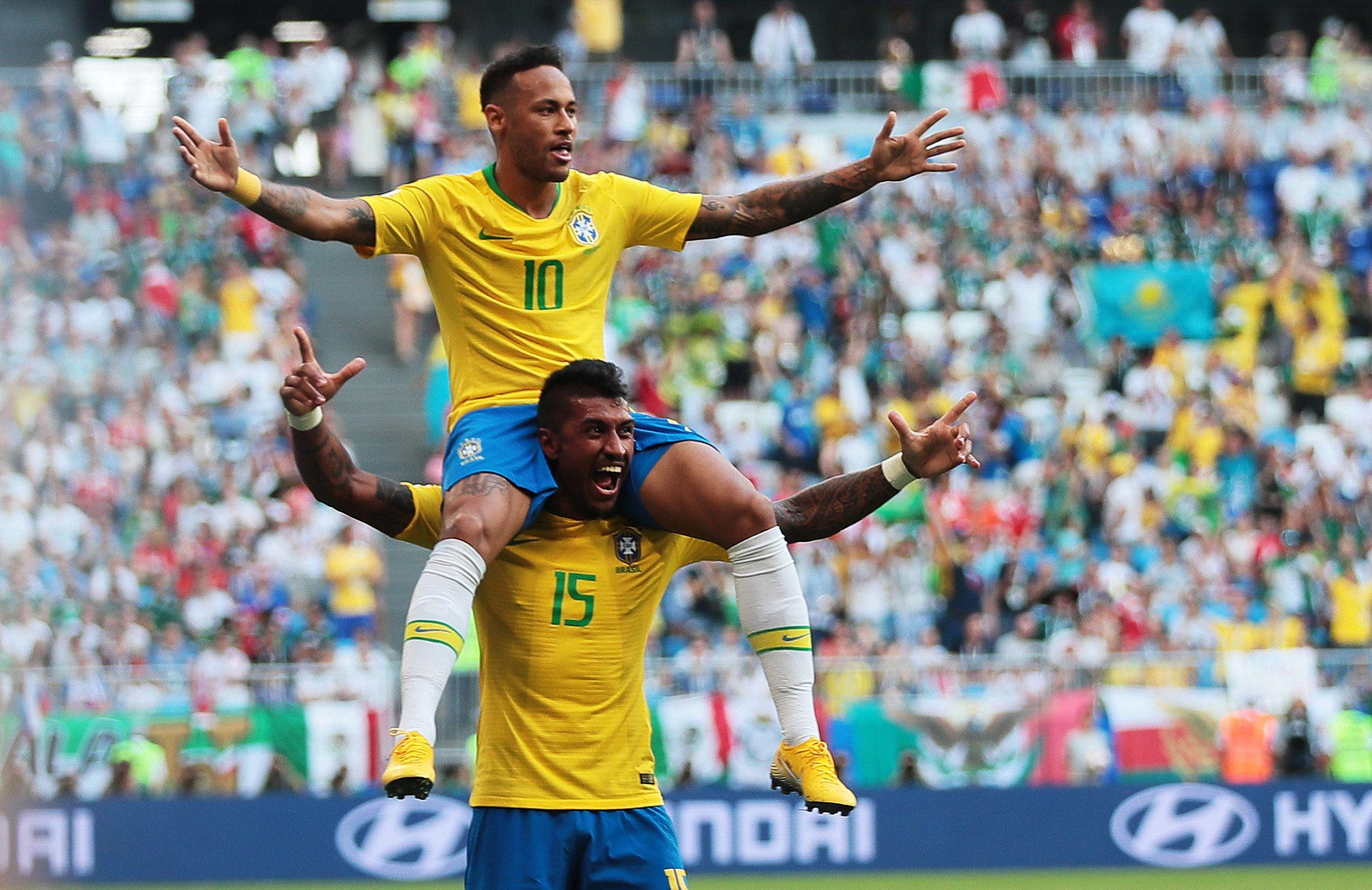 Brasil consiguió el pase a cuartos. Foto: EFE