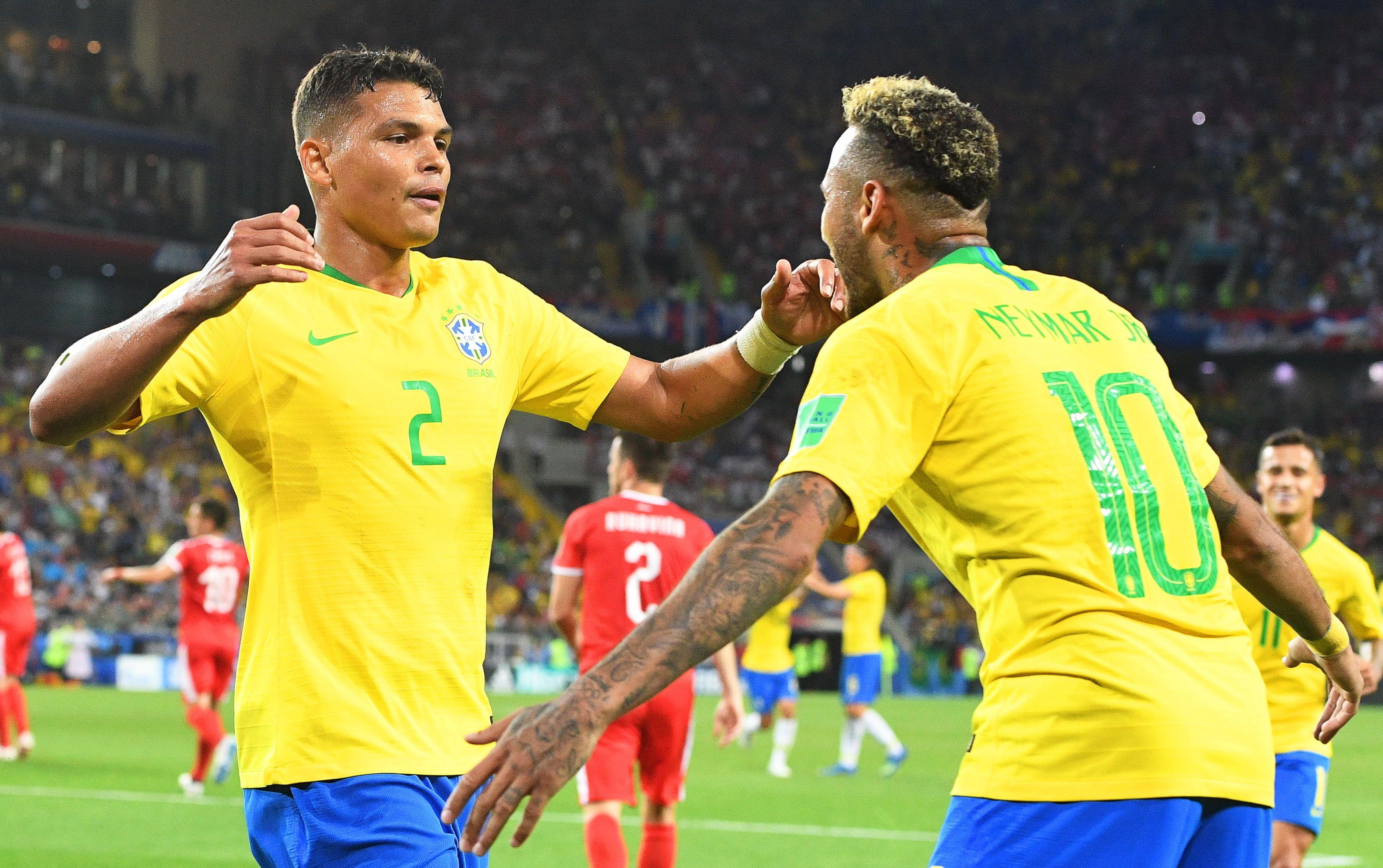 Thiago Silva confía en su compañero Neymar. Foto: EFE
