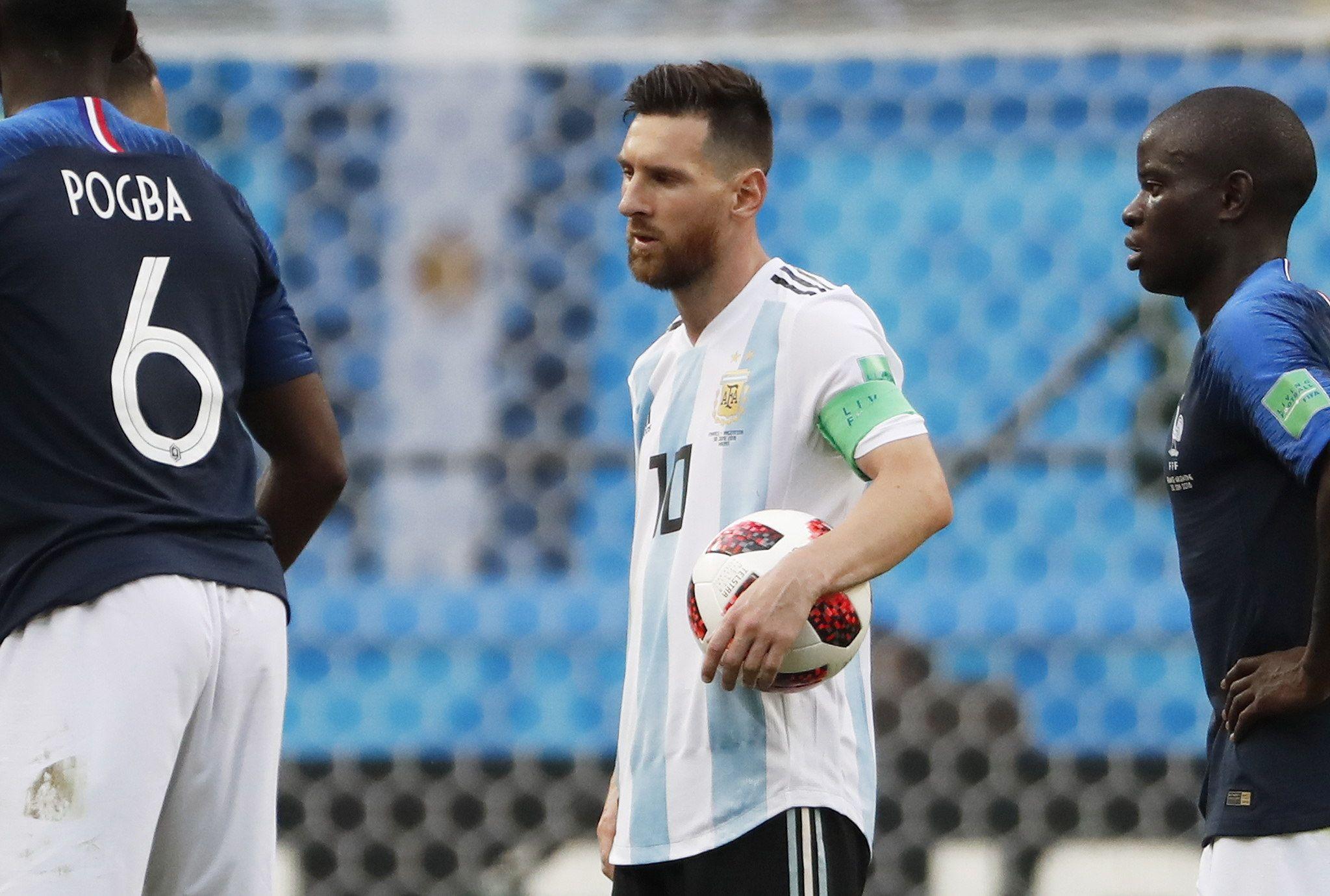 Maradona: Después de Messi somos un equipito más. Foto: EFE