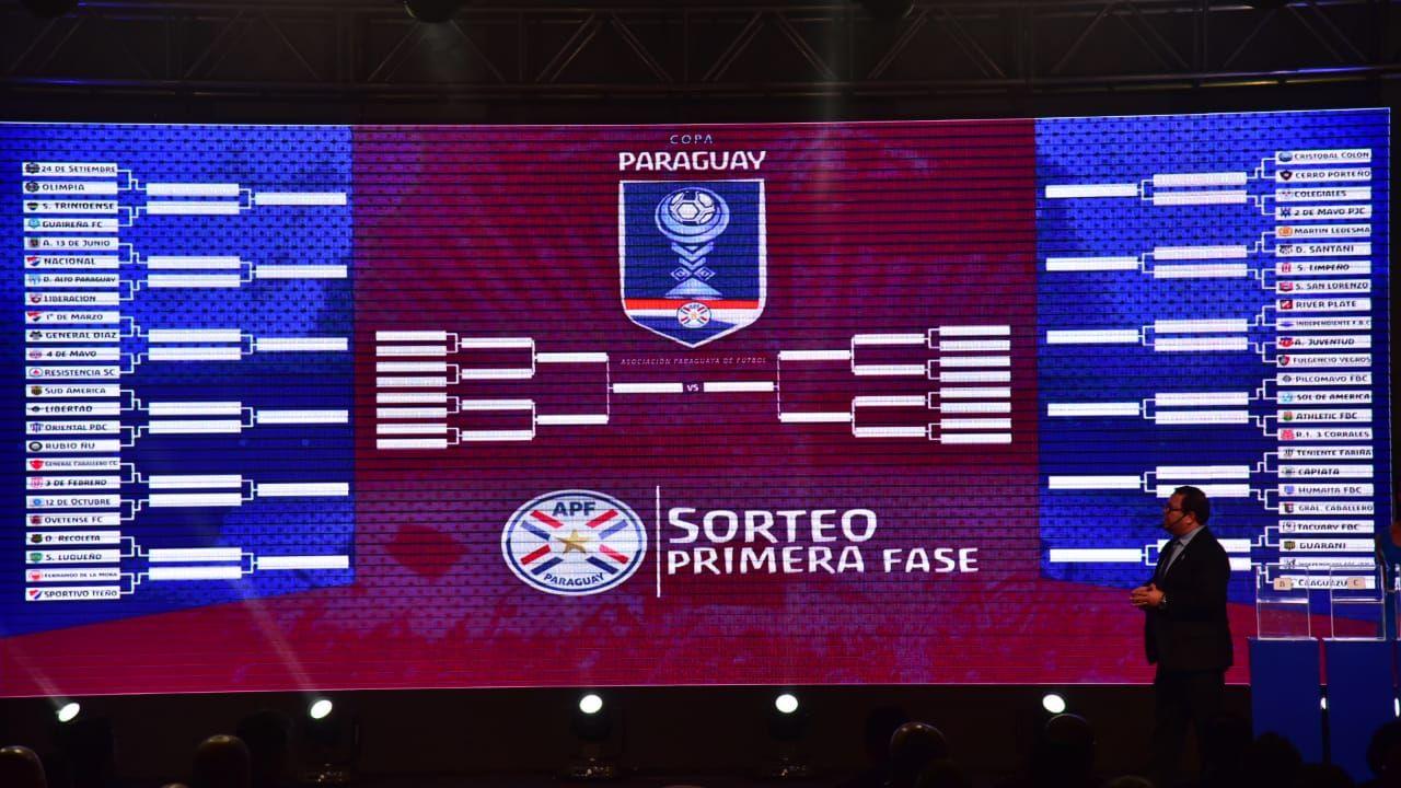 Sorteo de la Copa Paraguay. Foto: Fernando Calistro