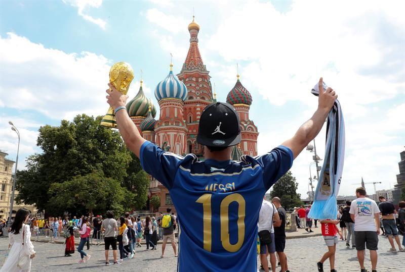 La FIFA está conforme con la fiesta en Rusia. Foto: EFE