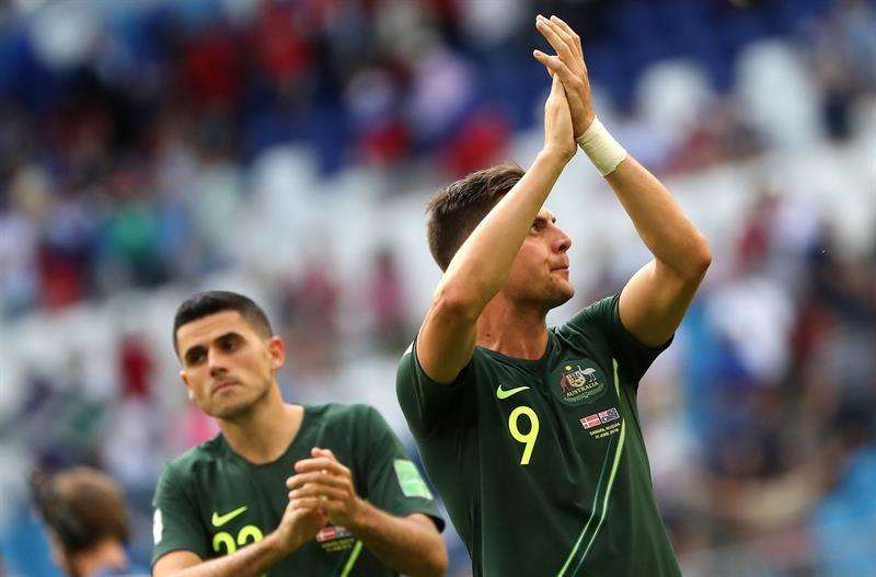 Australia quiere seguir en la competencia. Foto: EFE