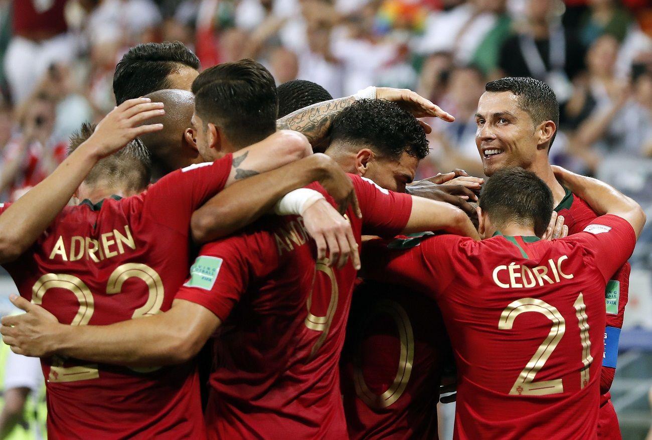 Portugal clasificó a los octavos de final. Foto: EFE
