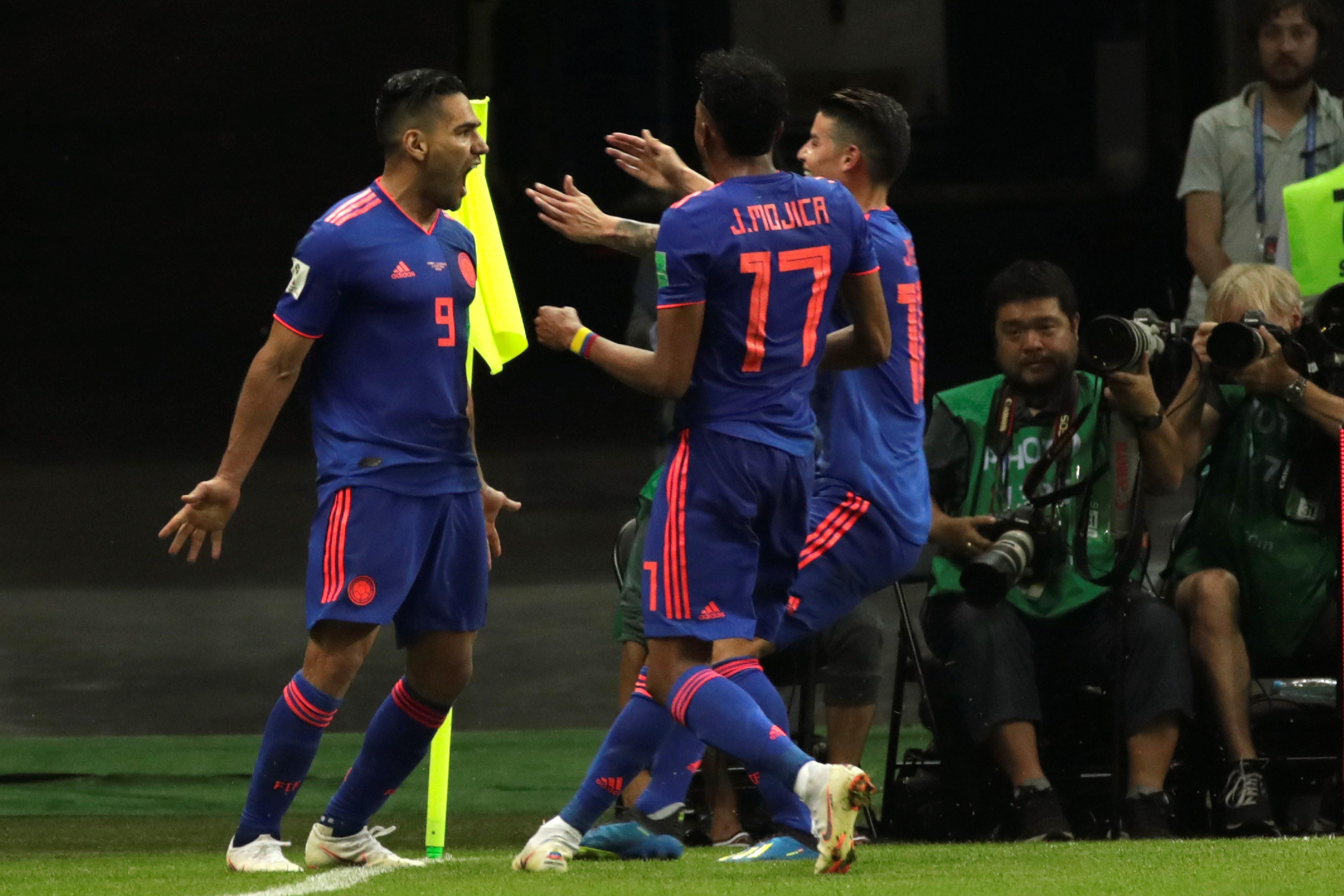 Colombia goleó y sigue ilusionado. Foto: EFE