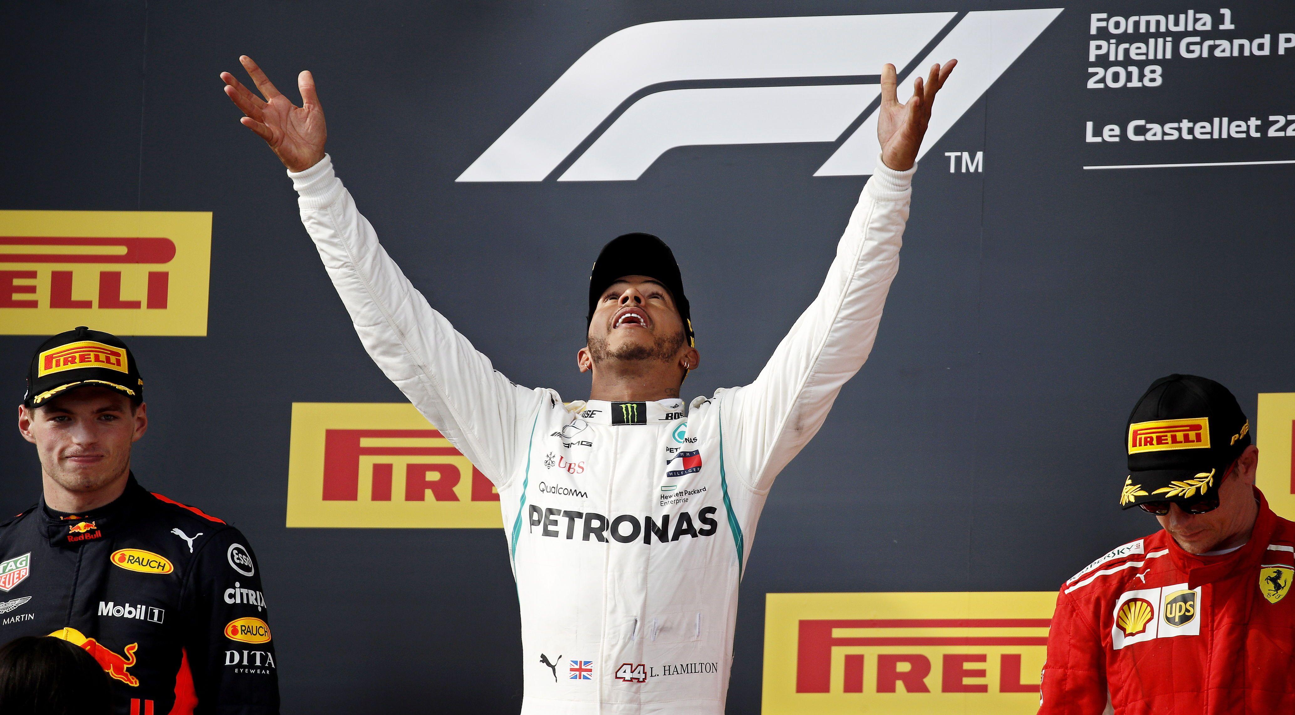 Hamilton amplía vínculo con Mercedes. Foto: EFE