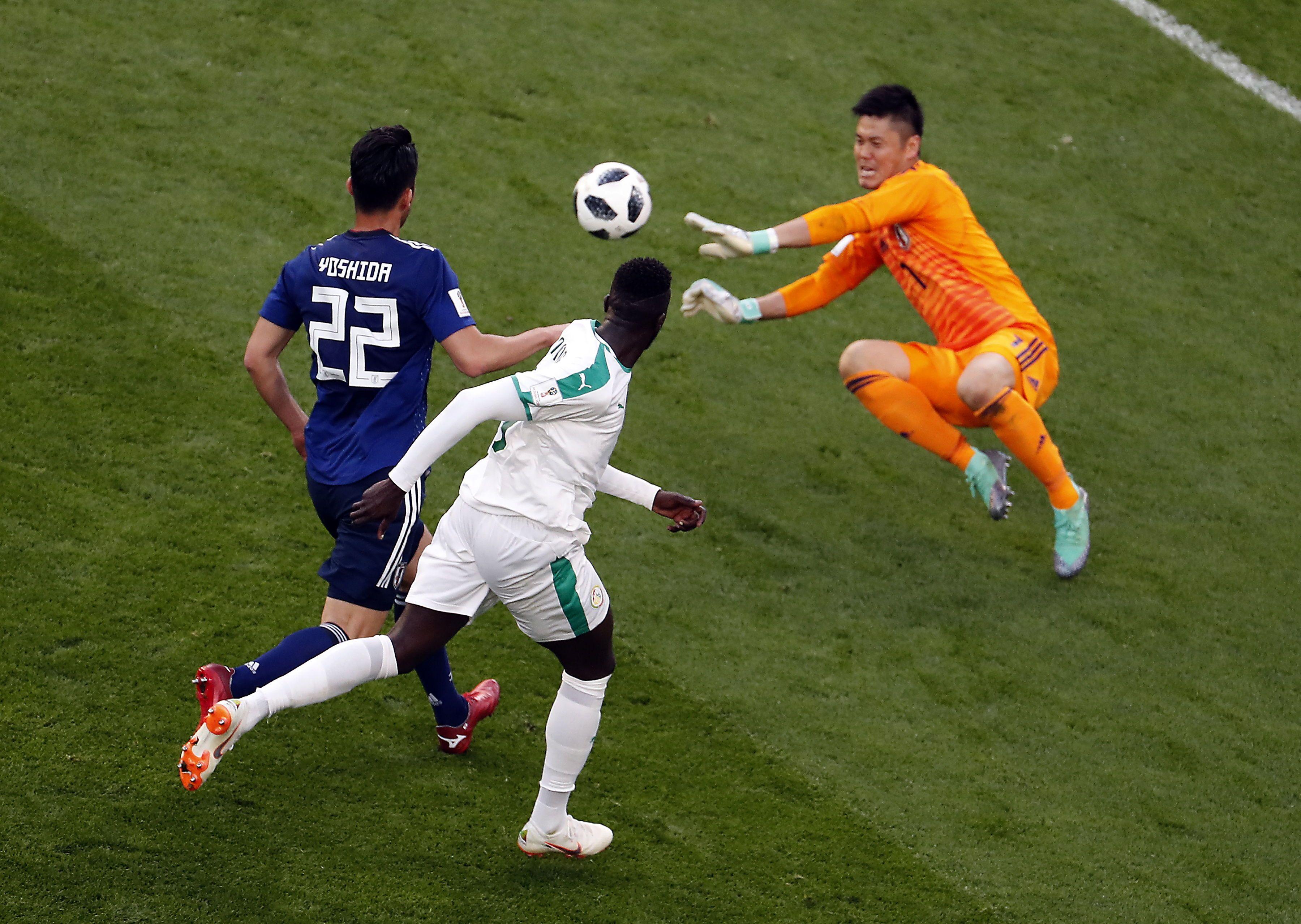 Japón y Senegal firmaron un empate a dos tantos en un vibrante y divertido encuentro. Foto: EFE