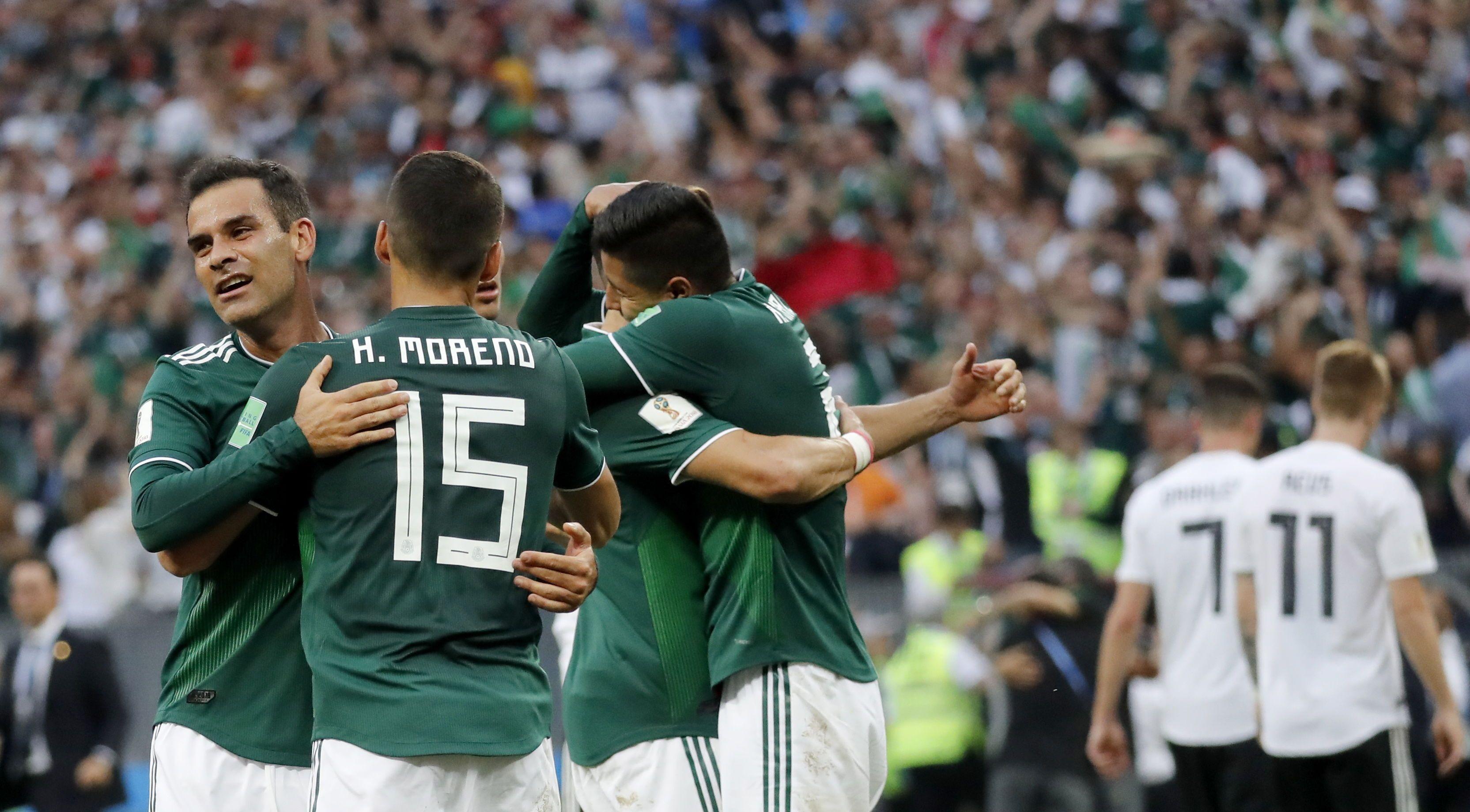 México viene de vencer a Alemania. Foto: EFE