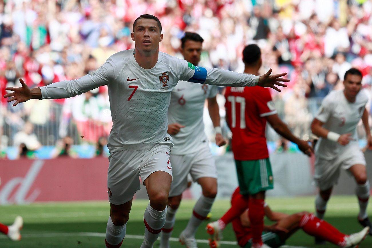 Cristiano Ronaldo le dio la victoria a Portugal. Foto: EFE