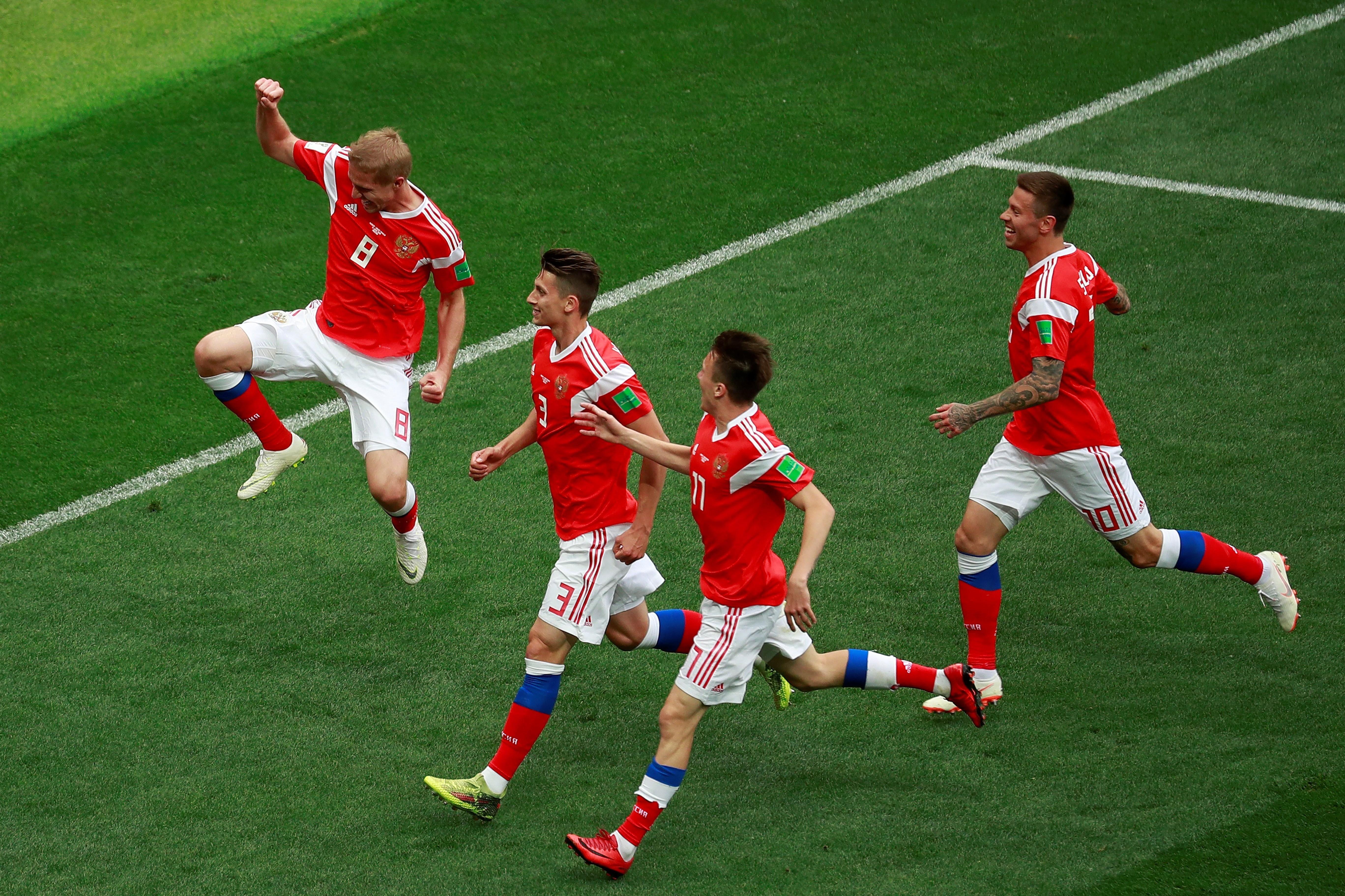 Rusia va por la clasificación. Foto: EFE