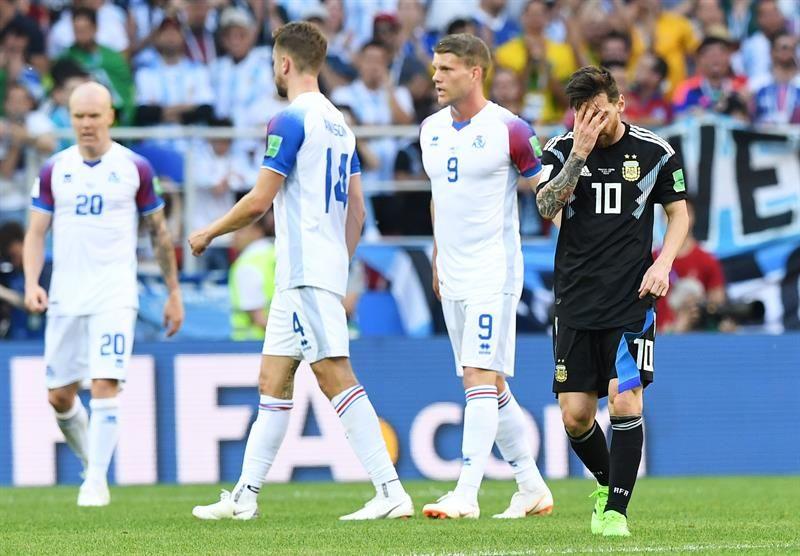 Messi: Me duele haber errado el penalti. Foto: EFE