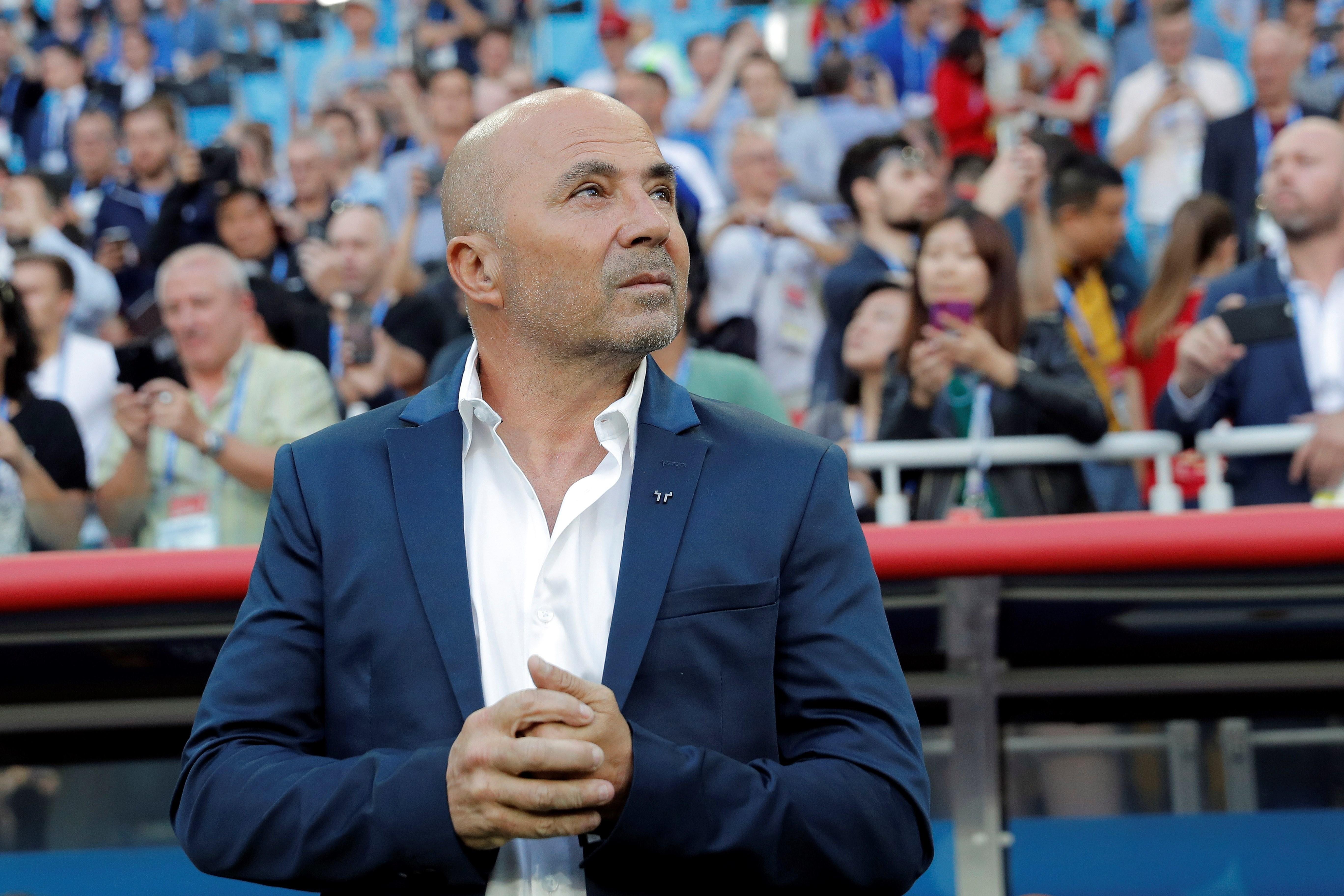 Sampaoli es nuevo entrenador del Santos. Foto: EFE