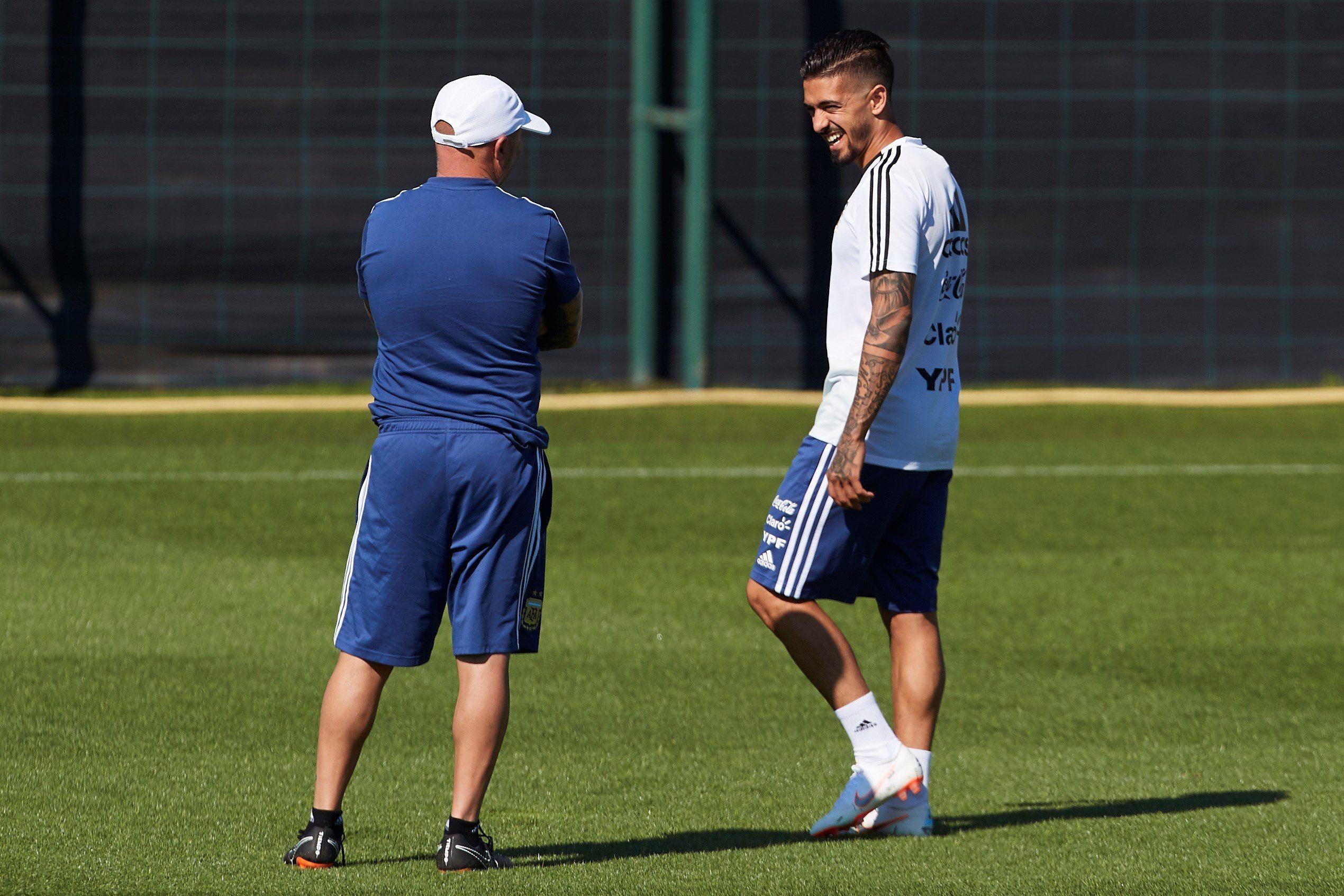 Sampaoli adelanta el once de Argentina