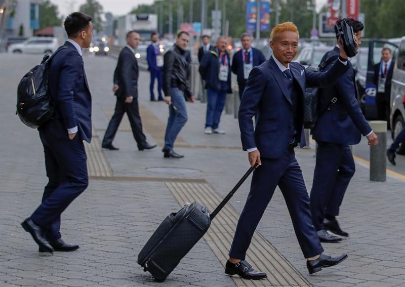 El defensa de Japón