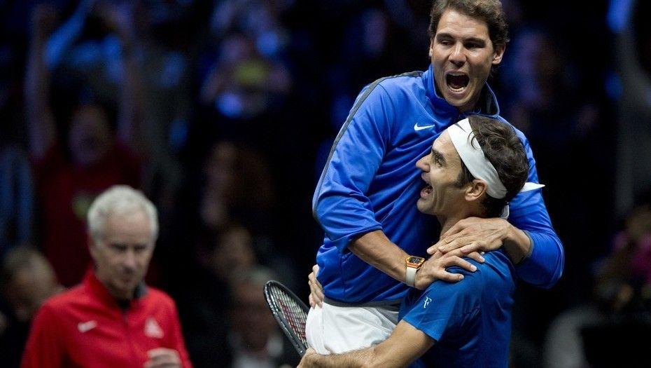 Federer: Todos los tenistas tenemos que hacer una reverencia a Nadal. Foto: Gentileza