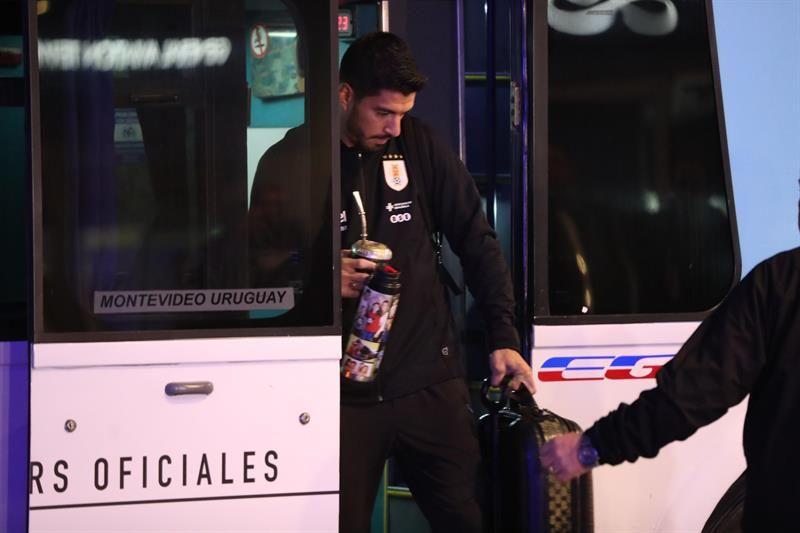 Suárez comanda la delegación charrúa. Foto: EFE