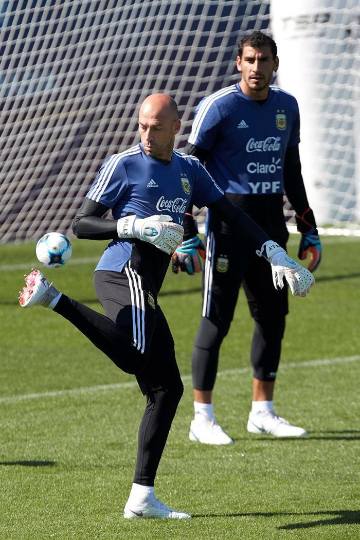 La Argentina completa su primera práctica en Rusia