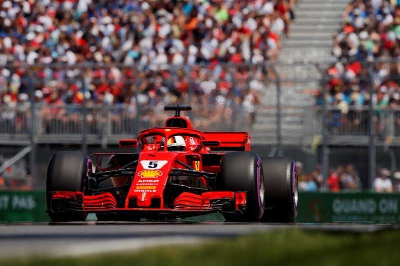 Vettel saldrá primero en Canadá. Foto: EFE