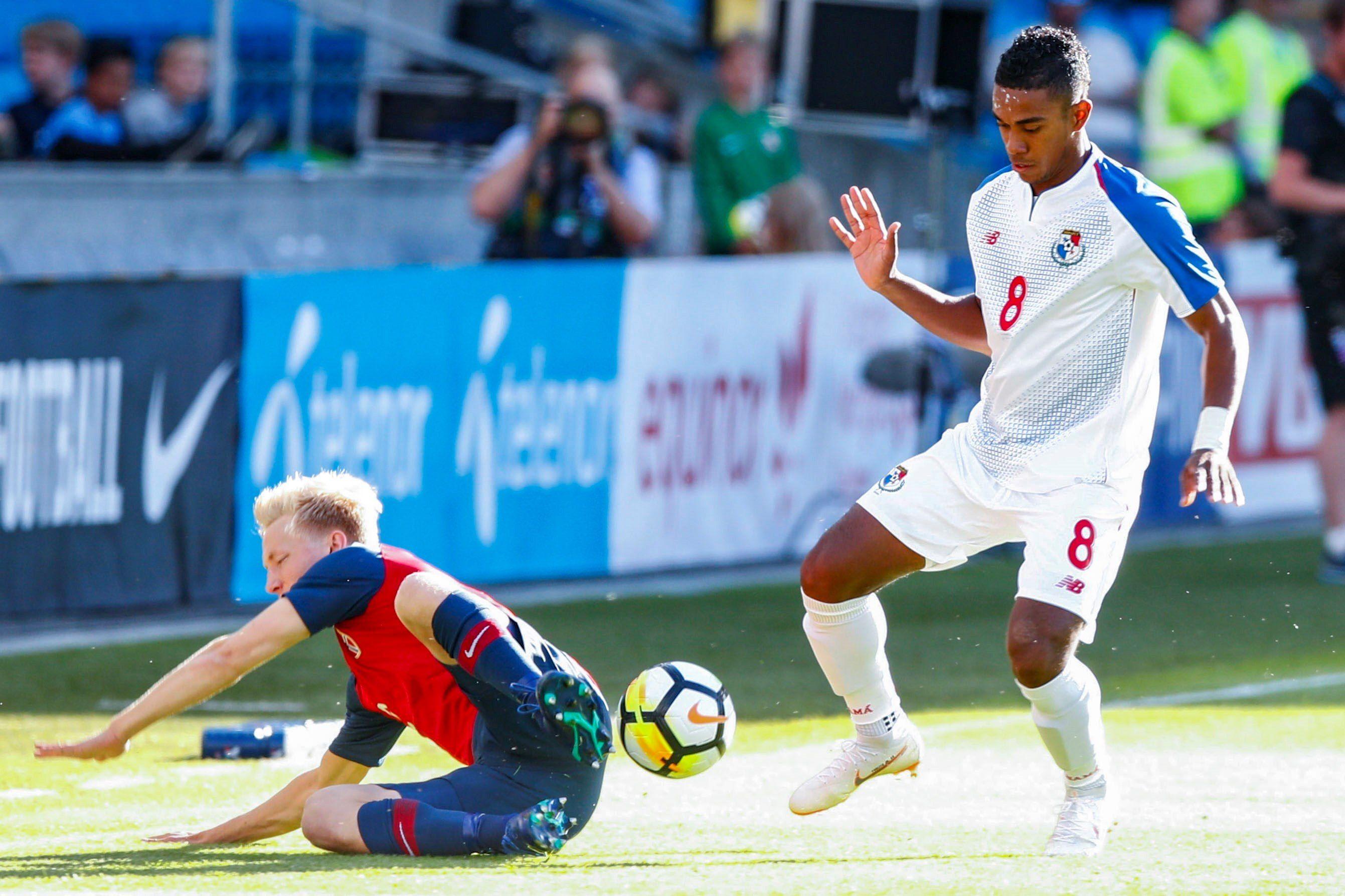 Panamá no pudo en su último juego de preparación. Foto: EFE