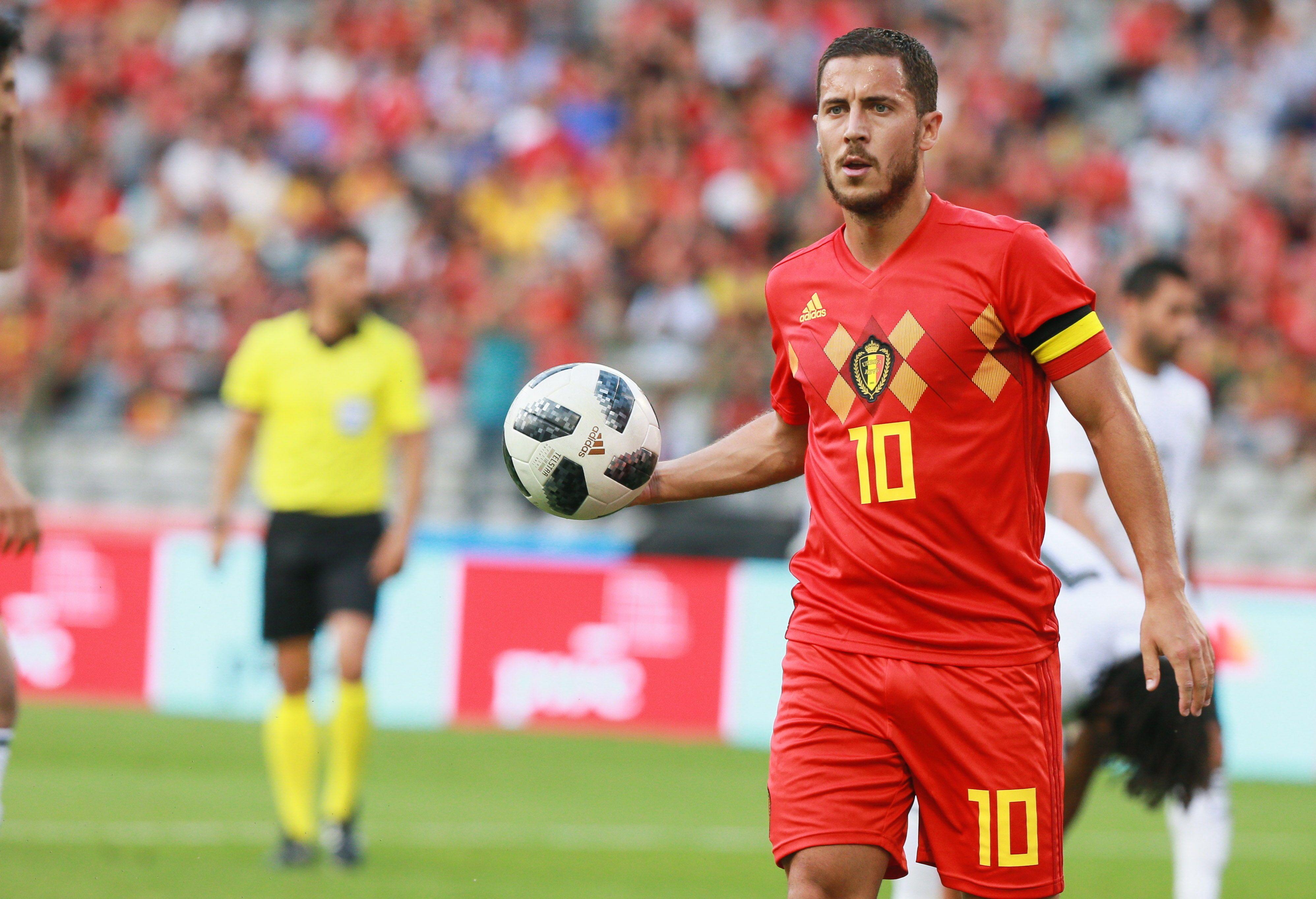 Eden Hazard marcó uno de los goles del partido. Foto: EFE