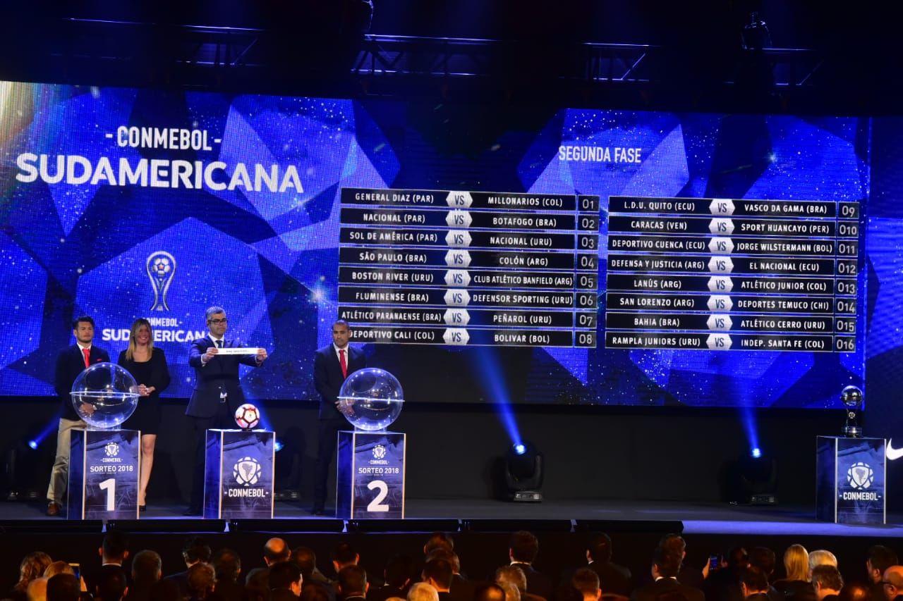 Sudamericana: Paraguayos conocen a rivales para segunda fase