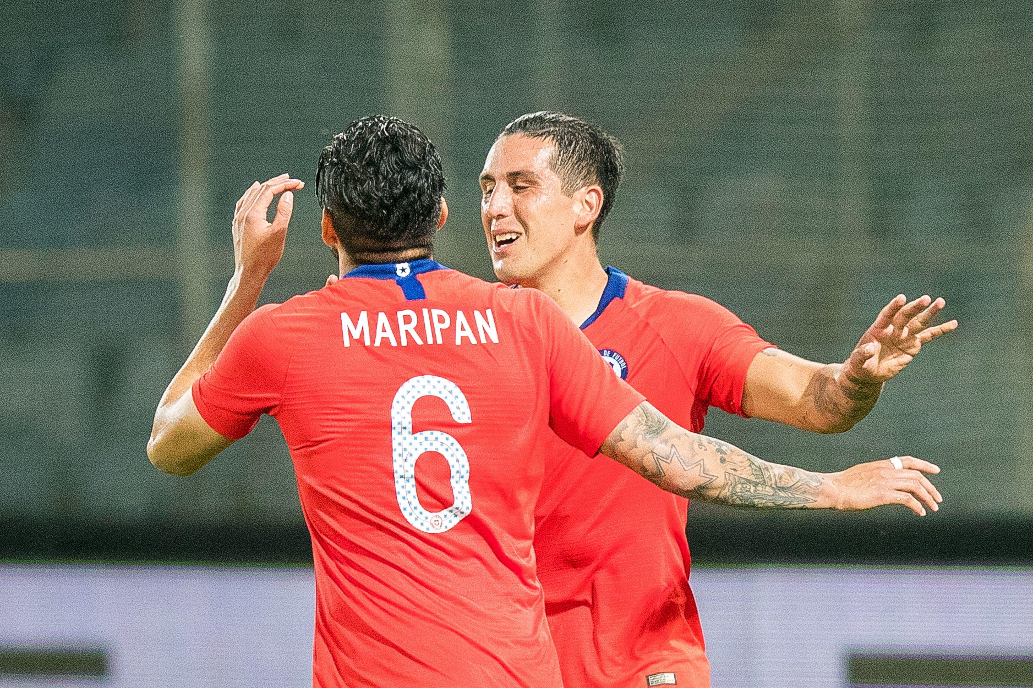 Chile derrotó por la mínima a Serbia. Foto: EFE