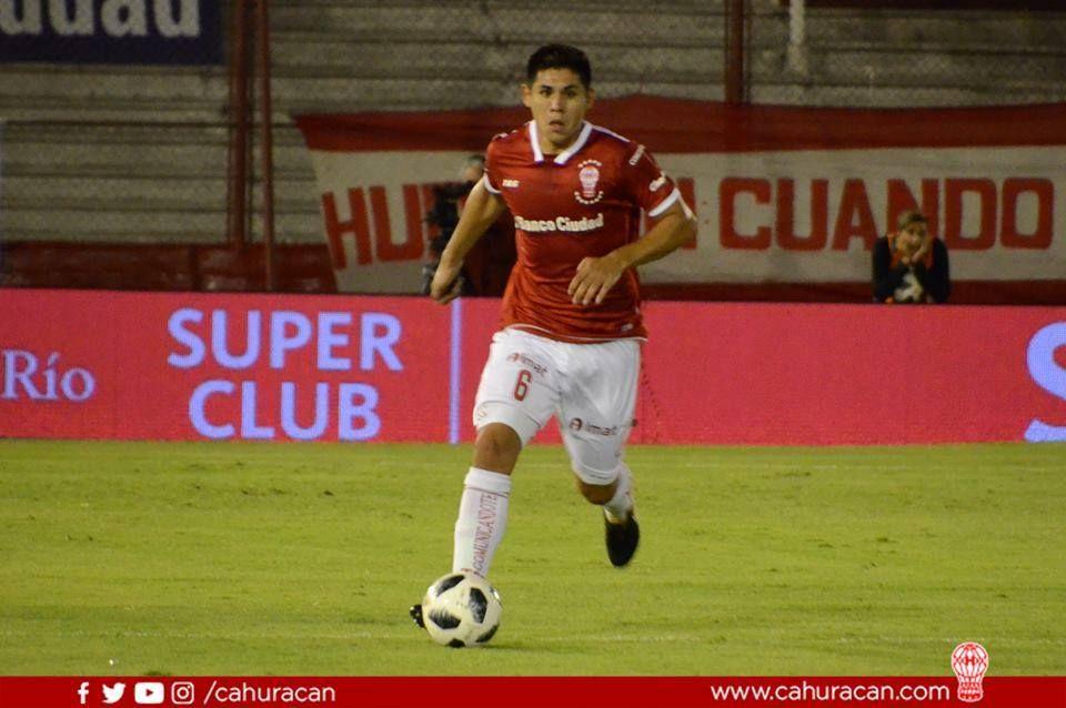 Salcedo tuvo un gran semestre en Huracán.