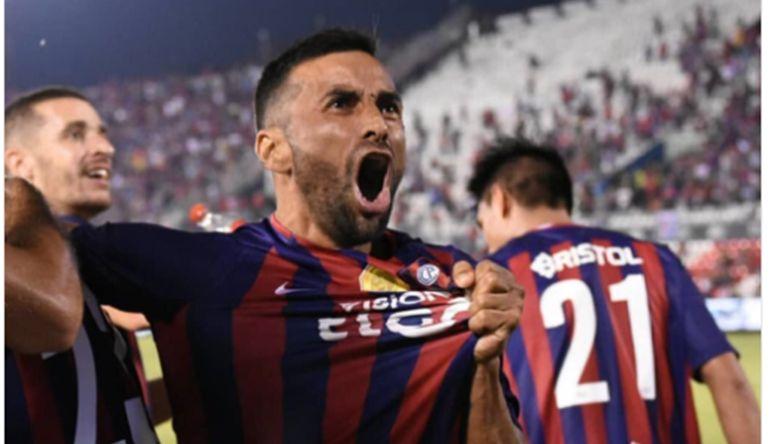 Julio Irazábal se despide de Cerro Porteño. Foto: Última Hora