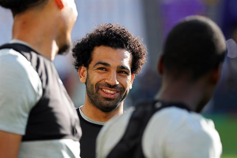 Salah se va al Mundial de Rusia. Foto: EFE