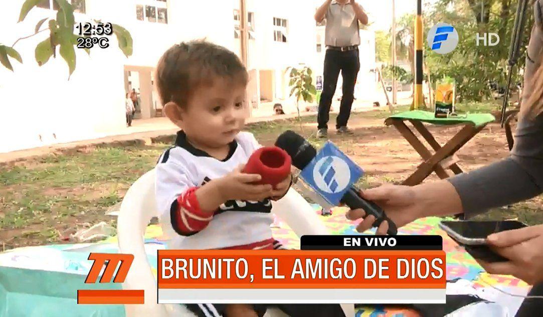 Brunito espera que Olimpia se consagre campeón.