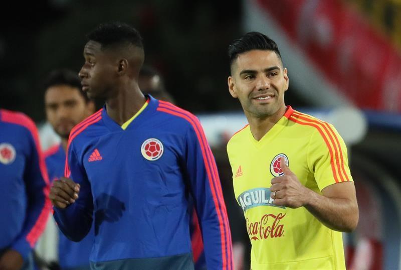 Colombia viaja con destino a Milán para seguir con sus trabajos de preparación. Foto: EFE