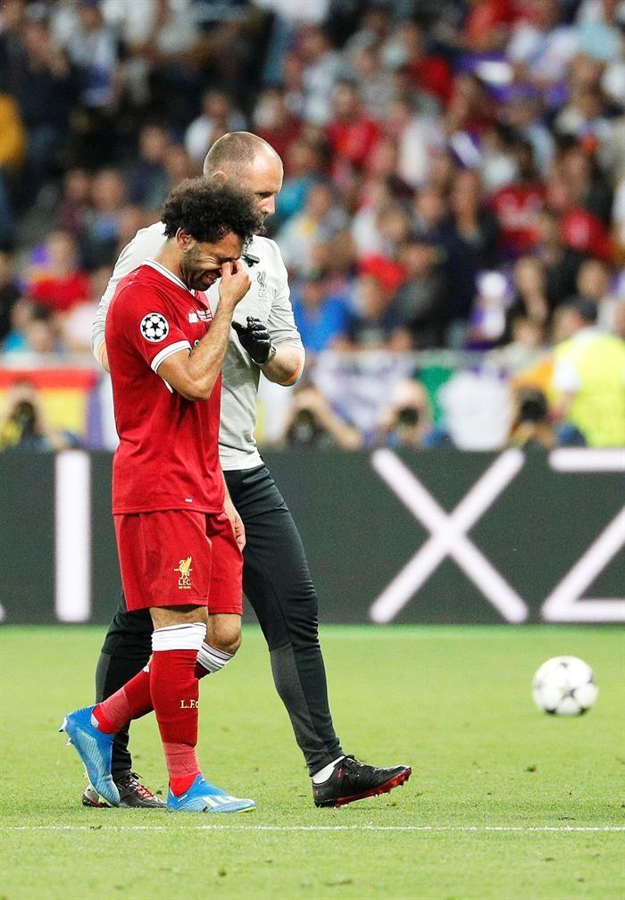 Salah podría llegar para servir a Egipto en el Mundial. Foto: EFE