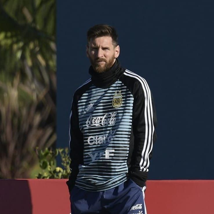 Messi ya está en Argentina.