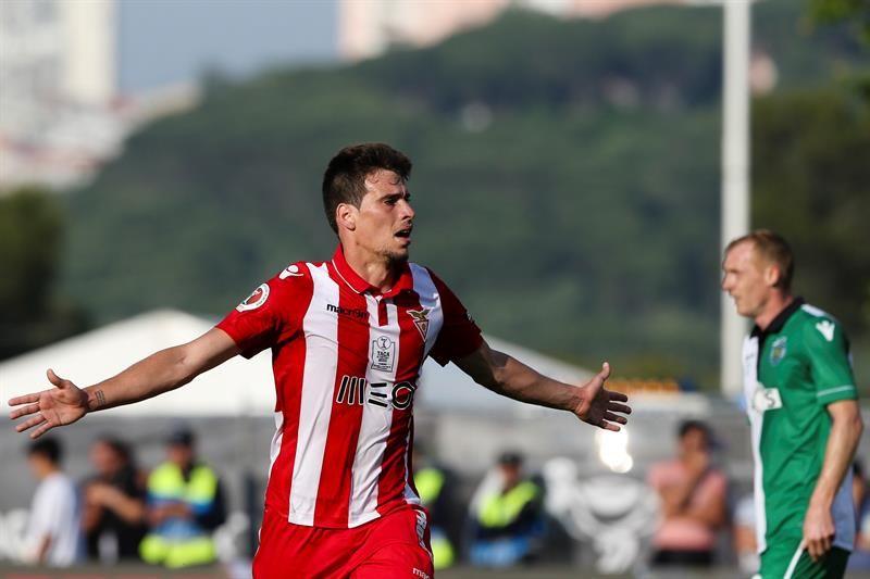 El Aves sorprende al Sporting y se lleva la Copa de Portugal. Foto: EFE