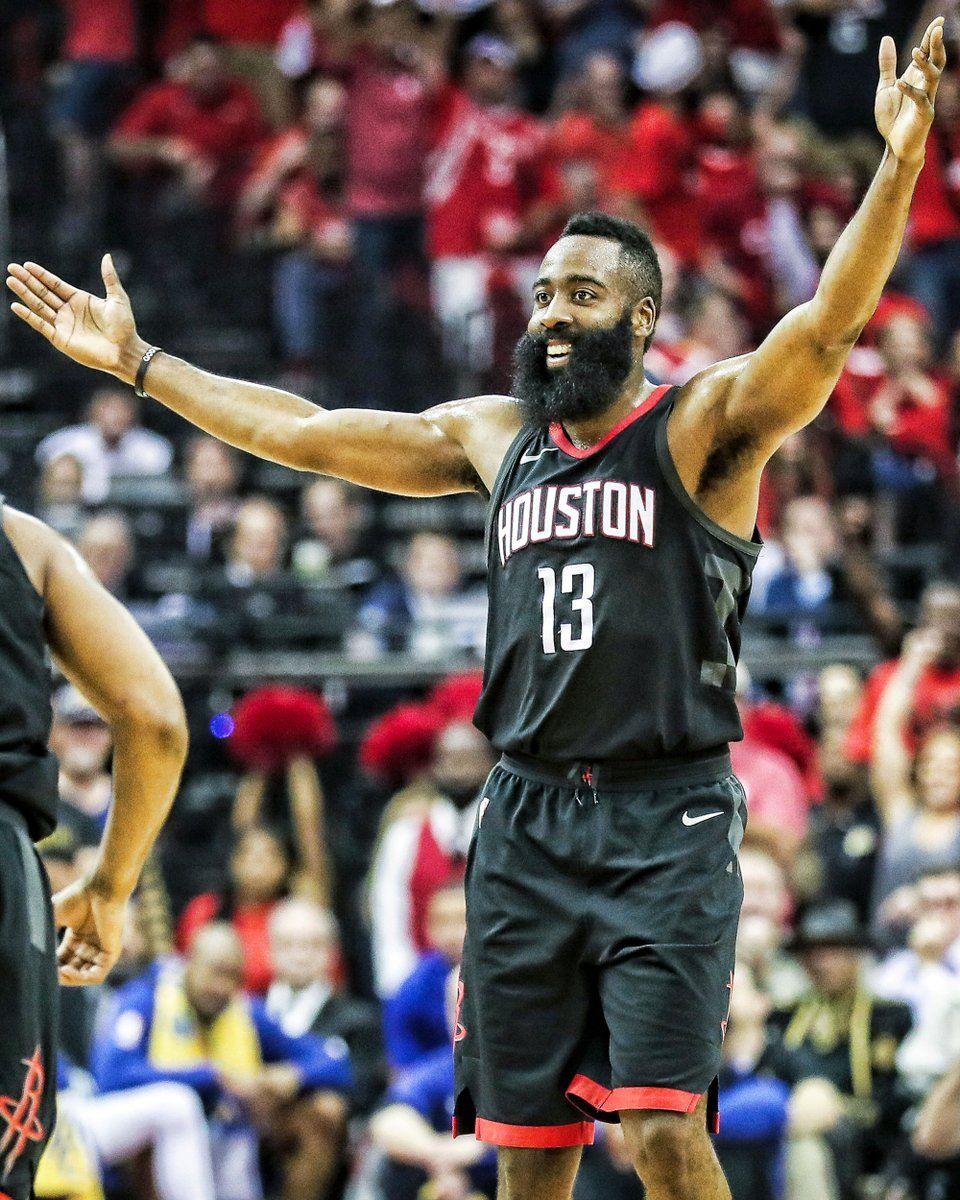 Harden y los Rockets se toman la revancha. Foto: @HoustonRockets
