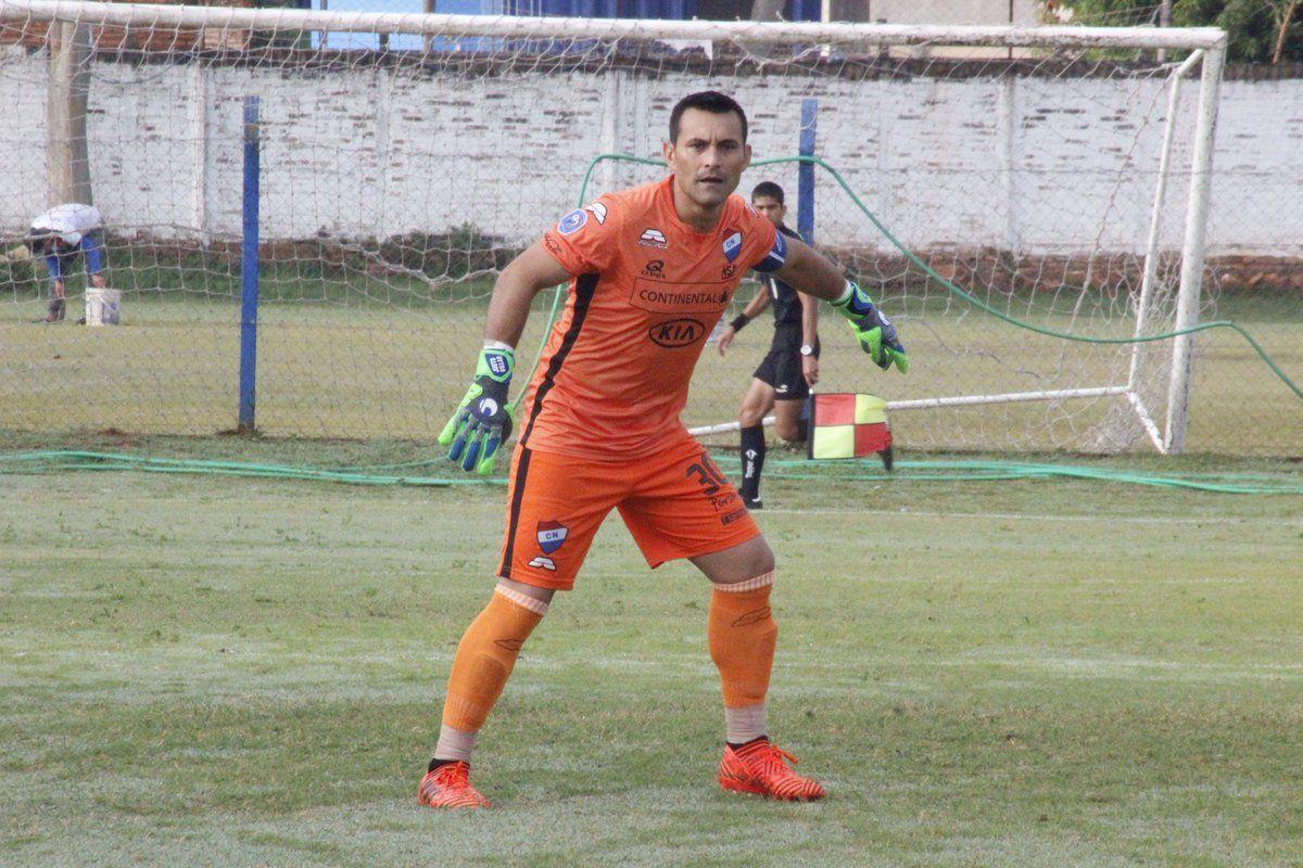 Justo Villar tuvo minutos en Reserva. Foto: Prensa Club Nacional