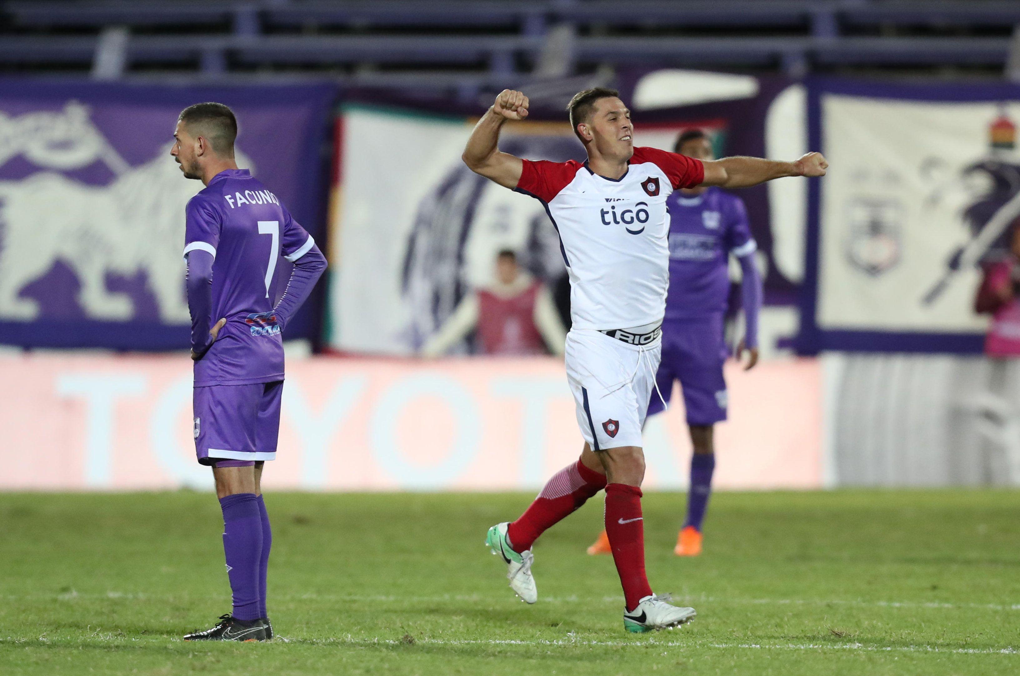 Diego Churín marcó el gol del triunfo azulgrana. Foto: EFE