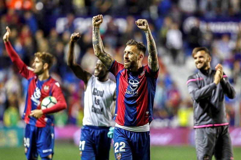 Levante dio la nota en España. Foto: EFE