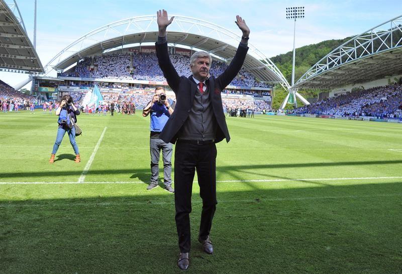 Wenger dirigió por última vez al Arsenal. Foto: EFE