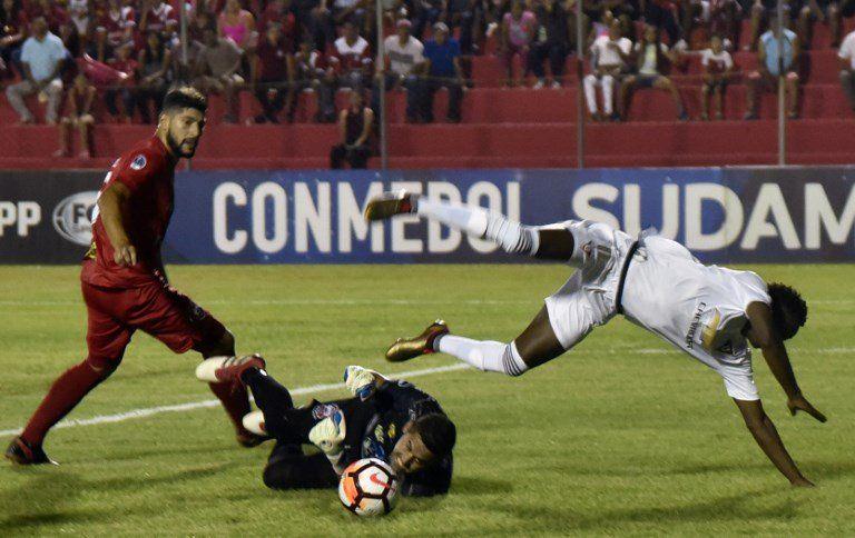 Liga de Quito se clasifica pese a su derrota ante el Guabirá. Foto: Conmebol