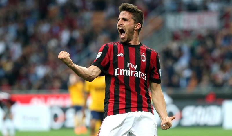 El Milan clasifica a la Europa League. Foto: EFE