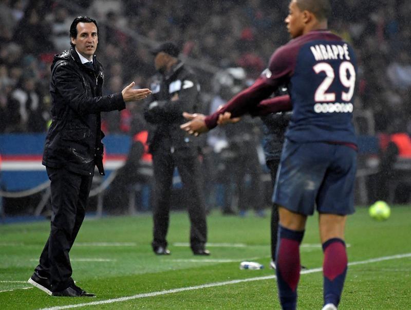 El París Saint-Germain pincha por segunda jornada consecutiva. Foto: EFE