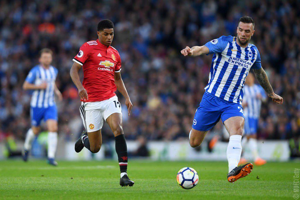 El Manchester United pierde ante el Brighton y no asegura la segunda plaza. Foto: @ManUtd