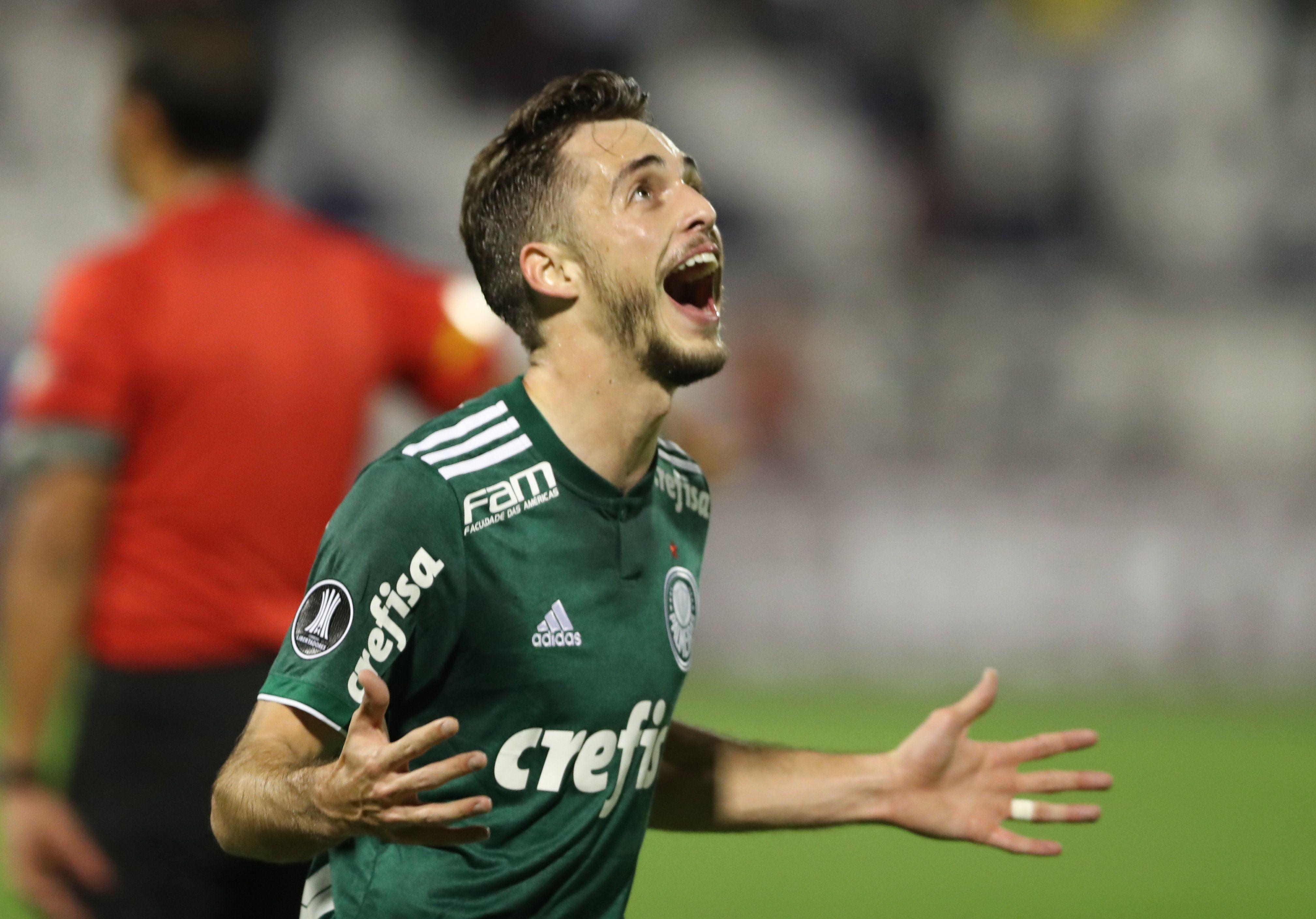 Palmeiras triunfó de visitante. Foto: EFE
