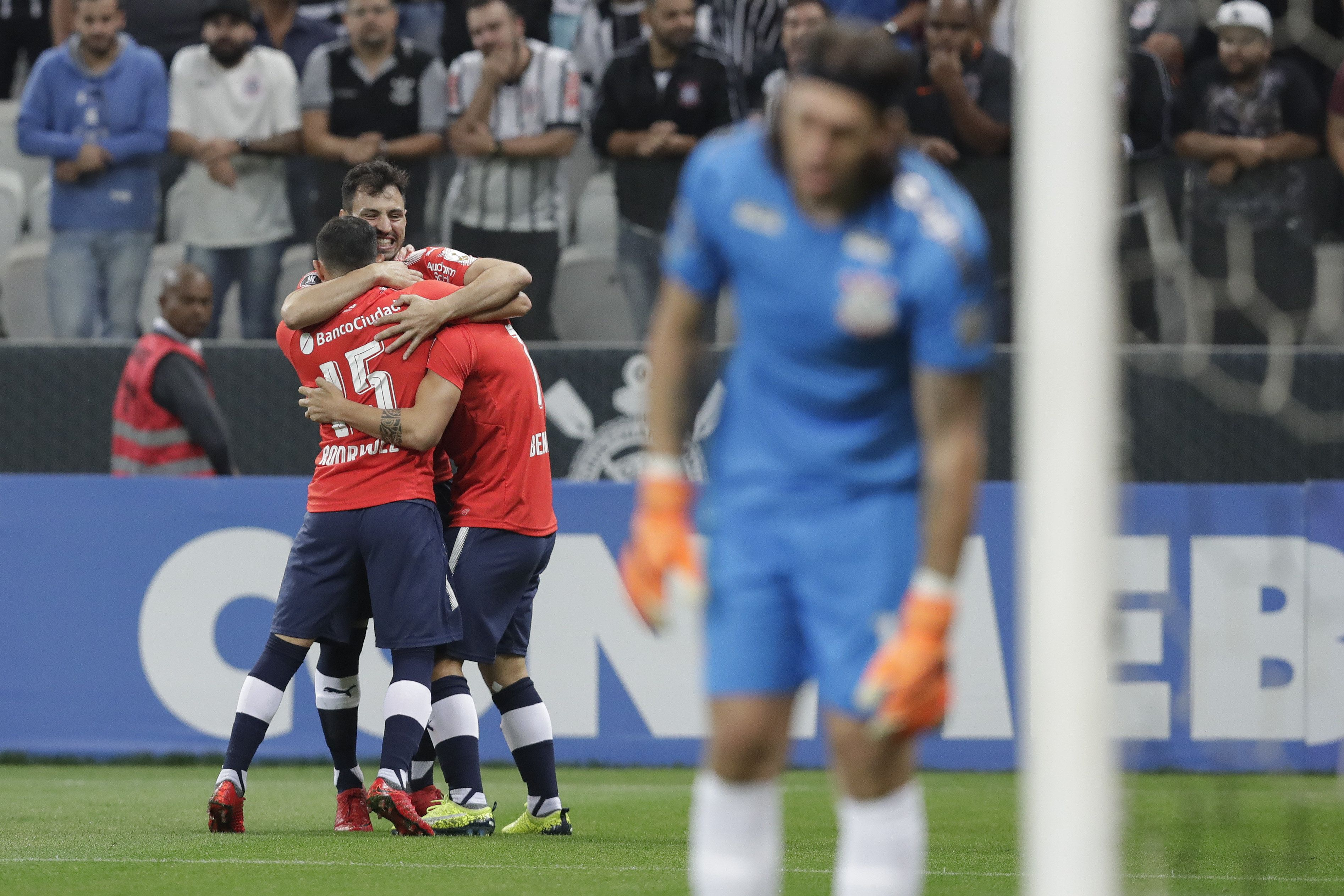 Independiente revivió en Copa. Foto: EFE