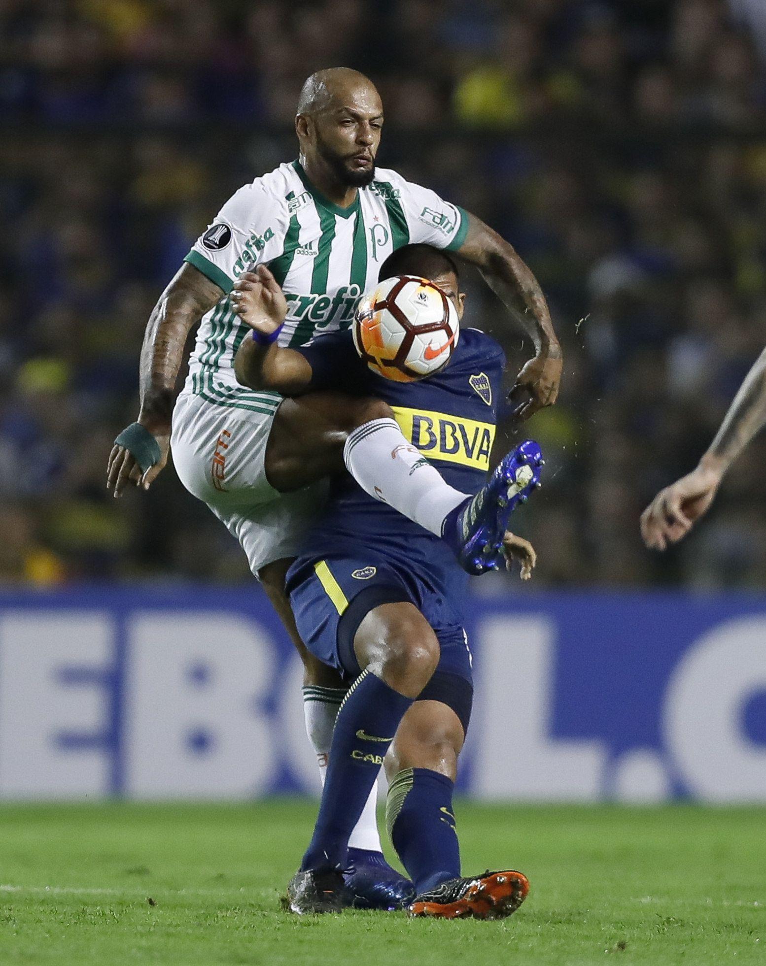 Felipe Melo no será de la partida en Palmeiras. Foto: EFE