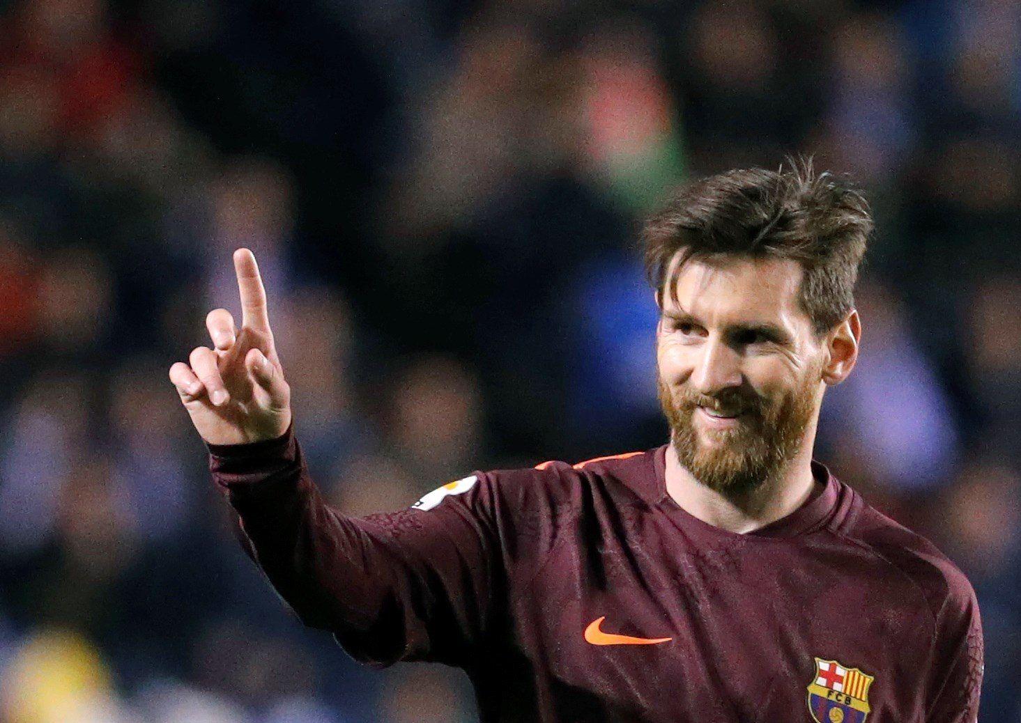 Lionel Messi se aleja en la cima de la tabla de goleadores. Foto: EFE