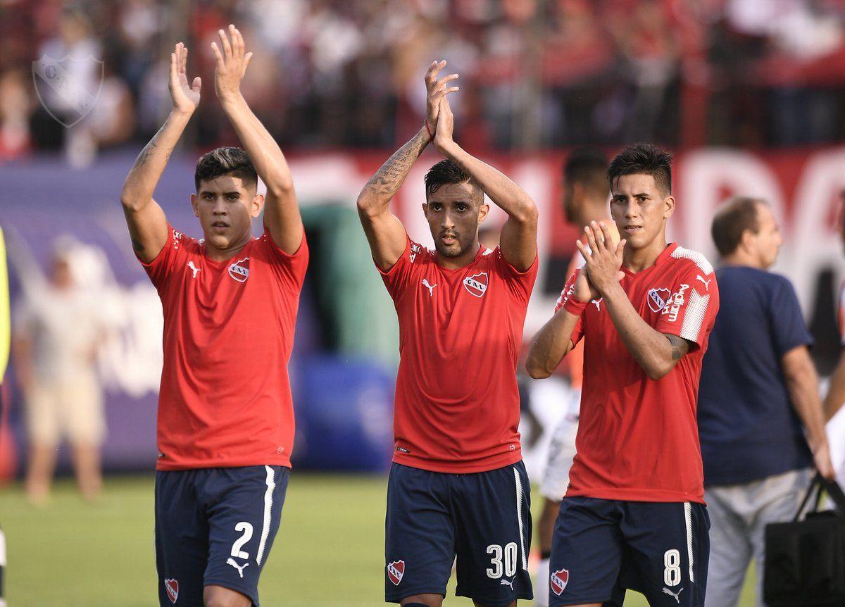 El Rojo de Avellaneda venció a Newells. Foto: @Independiente