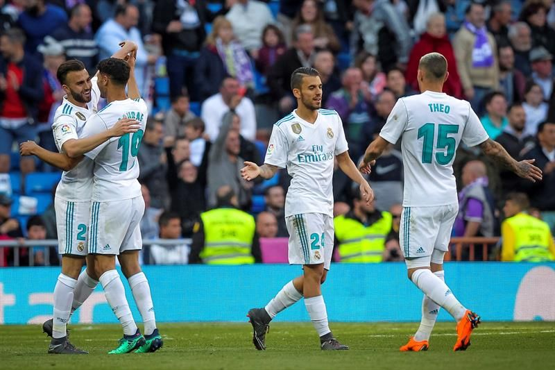 Bale y Mayoral marcaron para el Madrid. Foto: EFE