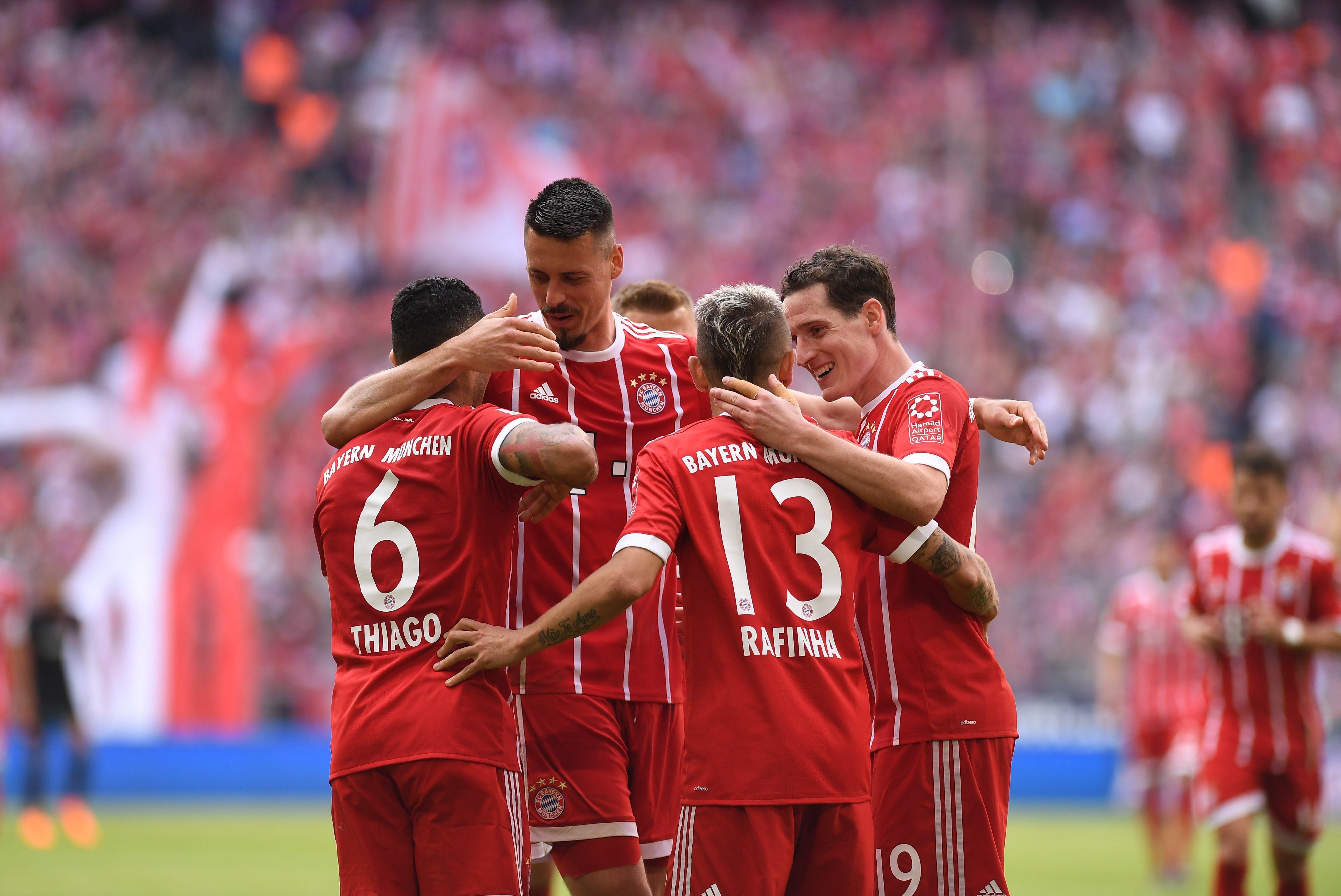 El Bayern ya piensa en Madrid. Foto: EFE